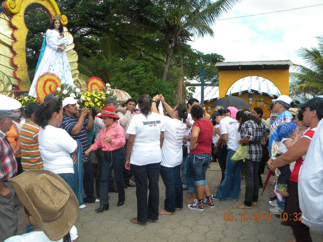 Religious festival, Chontales, Nicaragua